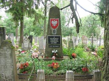 Grób zbiorowy polskich żołnierzy z 1920 r.